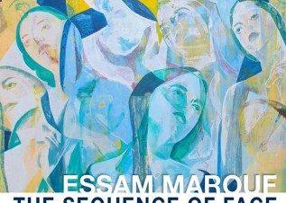 """معرض """"متتالية الوجه"""" للفنان عصام معروف بجاليري مصر"""