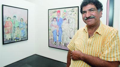 معرض للفنان محمد عبلة بذا أرتس مارت