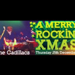 A Merry Rockin' Xmas with The Cadillacs at Cairo Jazz Club