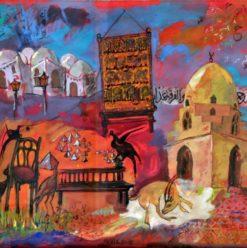 Mariam Abdel Aleem Exhibition Opening at Safar Khan Art Gallery