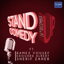 Stand-Up Comedy at the Garden