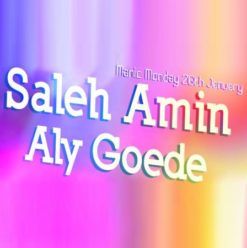DJ Saleh Amin & DJ Aly Goede at Cairo Jazz Club