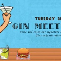 Gin Meets Burger at the Lemon Tree & Co.