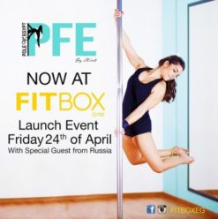PFE Launch Event at Fitbox