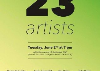 23 Artists at Art Lounge
