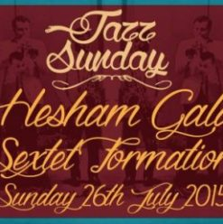Hesham Galal Sextet at Cairo Jazz Club