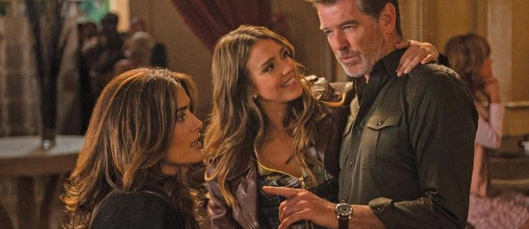 Some Kind of Beautiful: Brosnan, Hayek & Alba in Exasperatingly Cliched Rom-Com