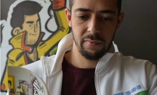 An Interview with 'Barbatoze': Egyptian Comic-Book Artist & Writer Sherif Adel