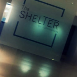 Official Opening at the Shelter