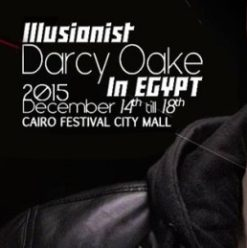 Darcy Oake at Cairo Festival City