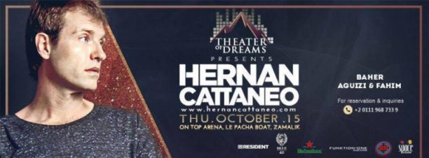 Theater of Dreams Presents Hernan Cattaneo at Ontop