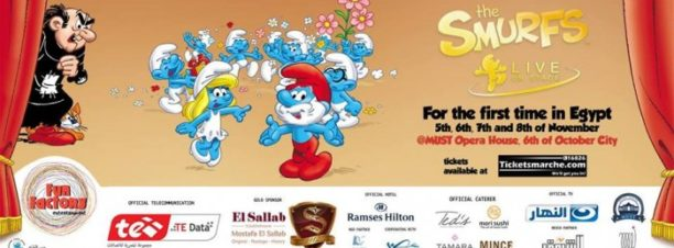 The Smurfs Live on Stage at MUST Opera House