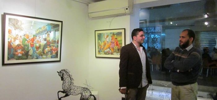 'Humorous Reactions' Exhibition at Art Corner