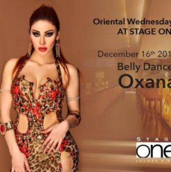 Oxana at Stage One