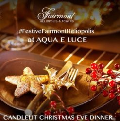 Christmas Eve at Aqua E Luce
