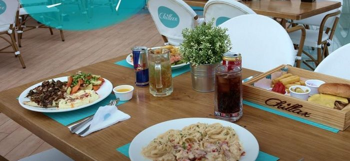 Chillax: Santorini-Inspired Restaurant in Heliopolis