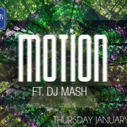 Motion Fr. DJ Mash at the Garden