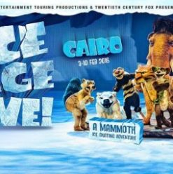 Ice Age Live! at Cairo Stadium