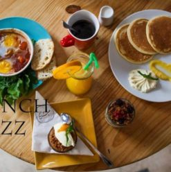 Brunch & Jazz في عيش وملح