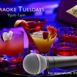 Karaoke Tuesdays at the Smokery