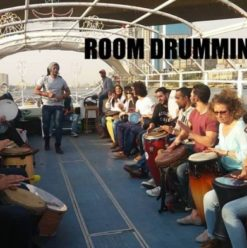 Drumming Boat at ROOM Art Space