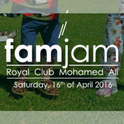 Nacelle: FamJam at Royal Club Mohamed-Aly