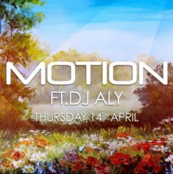 Motion Ft. DJ Aly at the Garden