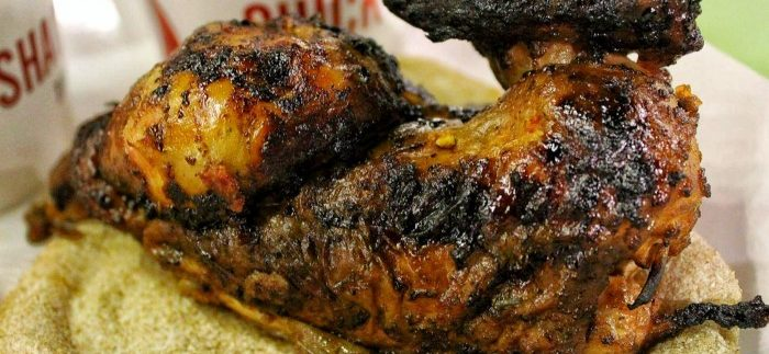 Chick Shack: Excellent Rotisserie Chicken at Quirky Fast Food Restaurant in Zamalek