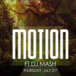 Motion Ft. DJ Mash at the Garden