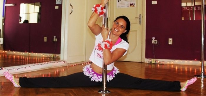 From England to Egypt, Diving to Dancing: A Q&A with Pole Fitness Instructor Mia Carter