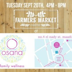 Farmers Market at Osana Family Wellness