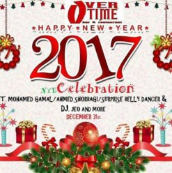 New Year's Eve at Overtime Bar & Restaurant