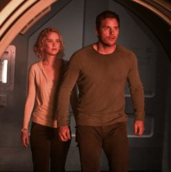 Passengers: Pratt & Lawrence Shine in Predictable Romance-Soaked Sci-Fi