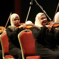 Al Nour Wel Amal Orchestra at The French Institute of Cairo