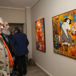 Mazag: Mostafa Rahma Exhibition Captures the Essence of the Egyptian 'Mood'
