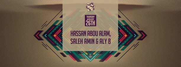 Hassan Abou Allam,  Saleh Amin & Aly B at Zigzag