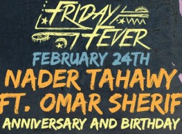 DJ Tahawy (Anniversary & Birthday) ft. Omar Sherif at Cairo Jazz Club