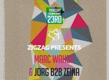 House Night ft. Marc Wahba & Jorg B2B Zeina at Zigzag