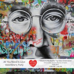 All You Need is Love at Nox