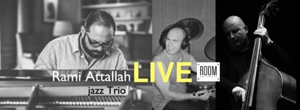 Rami Attallah Jazz Trio at ROOM Art Space