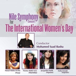 The Nile Symphony Orchestra International Women's Day Concert at the Cairo Opera House