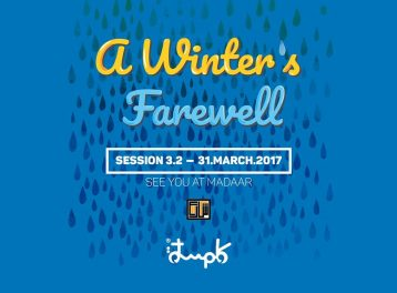 'A Winter's Farewell' at Madaar