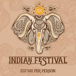 Indian Festival at The Pool Garden, InterContinental Citystars