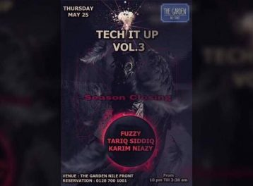 Tech it Up Vol. 1 at The Garden Nile Front
