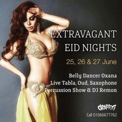 Extravagant Eid Nights at Graffiti