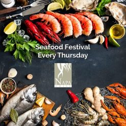 Seafood Festival at Napa Grill