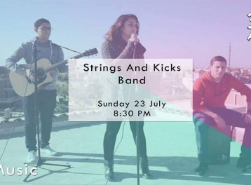 فريق STRINGS & KICKS في علبة ألوان