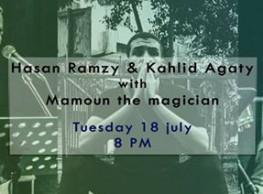 Hassan Ramzy & Khaled Agaty at 3elbt Alwan
