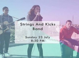 Strings & Kicks at 3elbt Alwan
