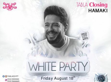 White Party ft. Mohamed Hamaki at Tabla North Coast